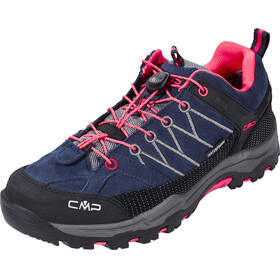 CMP Campagnolo Rigel Low WP Trekking Shoes Junior antracite-red fluo